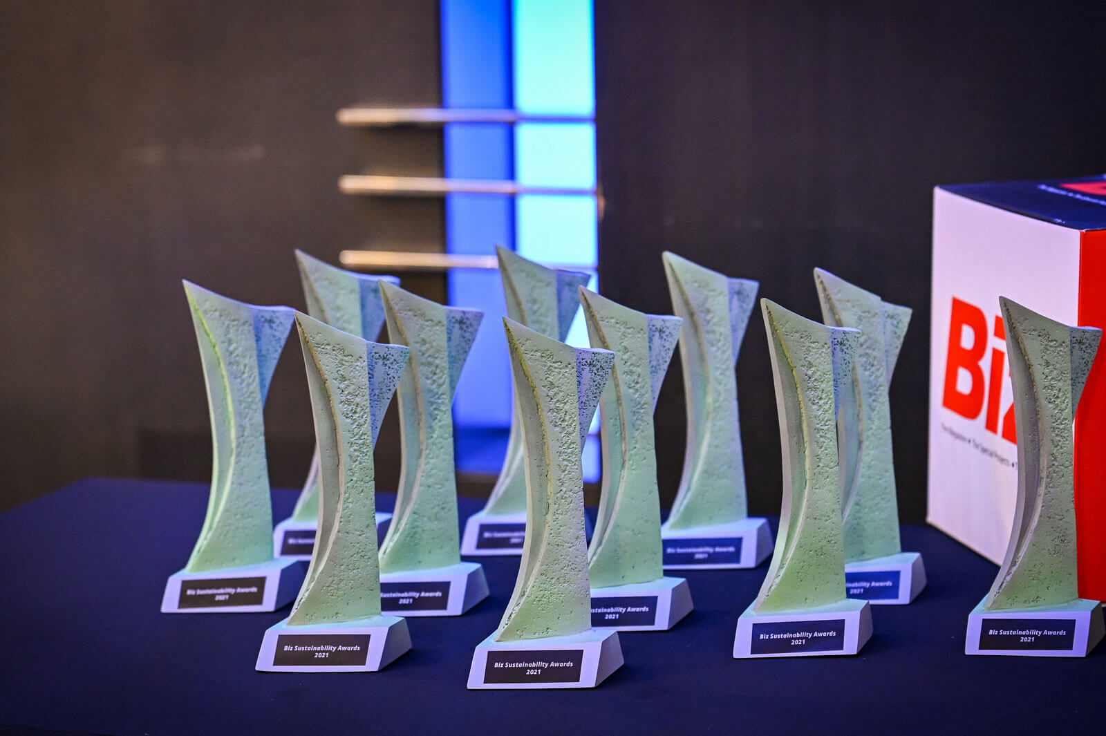 Winners of the Biz Sustainability Awards 2021